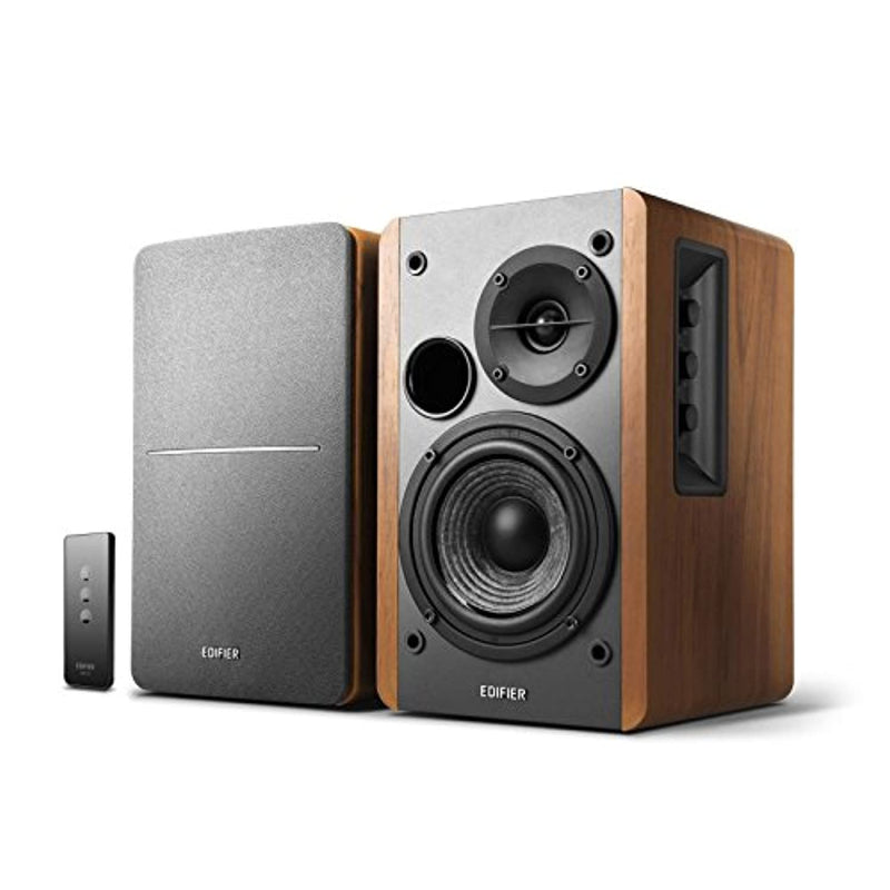 Classier: Buy Edifier Edifier R1280T Powered Bookshelf Speakers - 2.0 Stereo Active Near Field Monitors - Studio Monitor Speaker - Wooden Enclosure - 42 Watts RMS