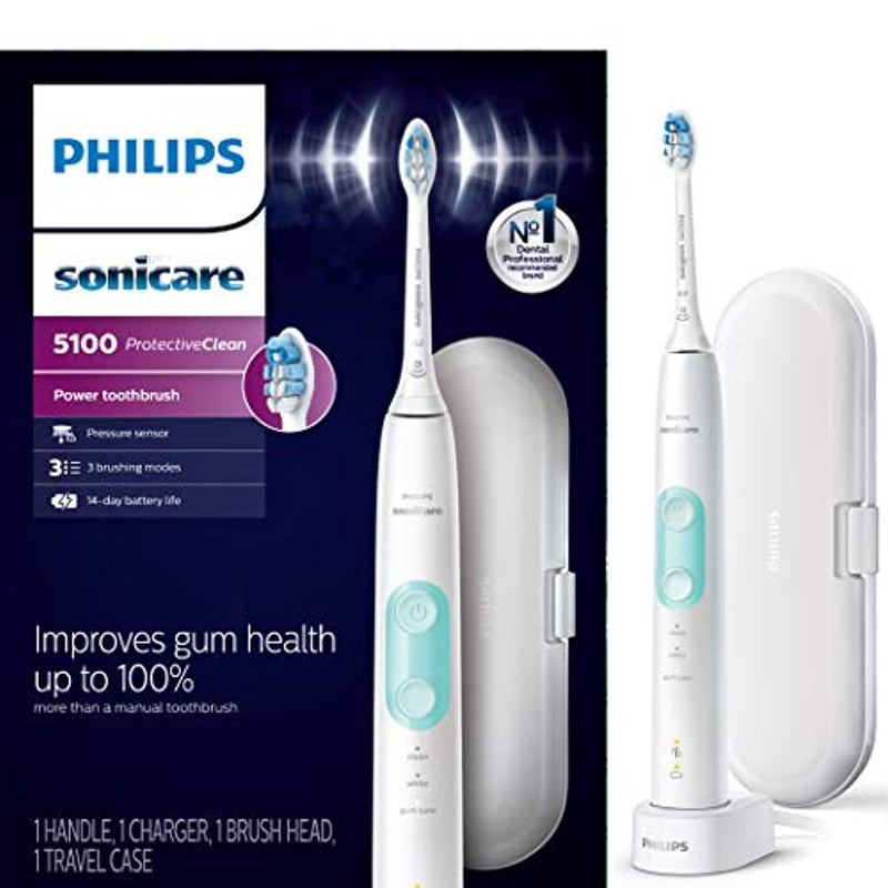 Classier: Buy Philips Sonicare Philips Sonicare HX6857/11 ProtectiveClean 5100 Rechargeable Electric Toothbrush, White