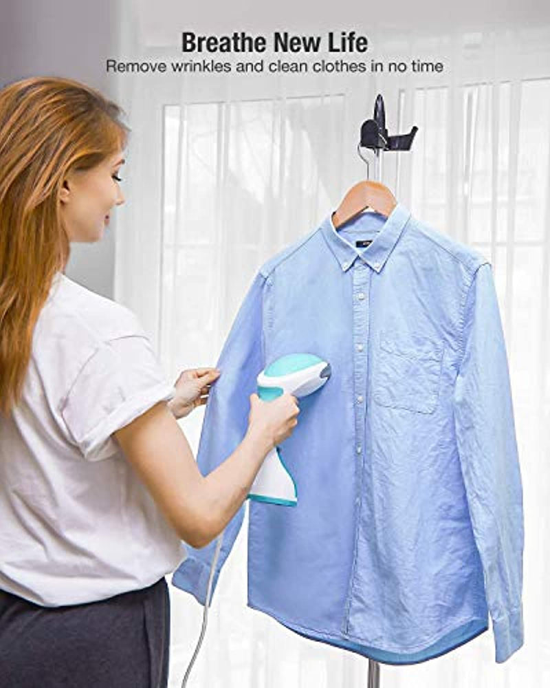 Classier: Buy BEAUTURAL BEAUTURAL Steamer for Clothes with Pump Steam Technology, Portable Handheld Garment Fabric Wrinkles Remover, 30s Fast Heat-up, Auto-Off, Large Detachable Water Tank