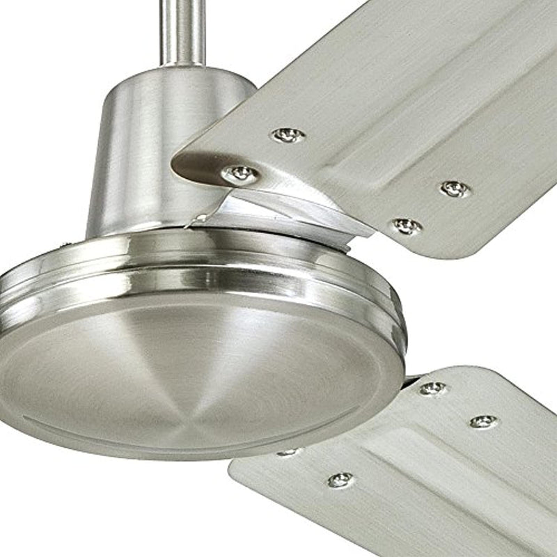 Classier: Buy Westinghouse Lighting Westinghouse Lighting Westinghouse 7861400 Industrial 56-Inch Three Indoor Ceiling Fan, Brushed Nickel Steel Blades