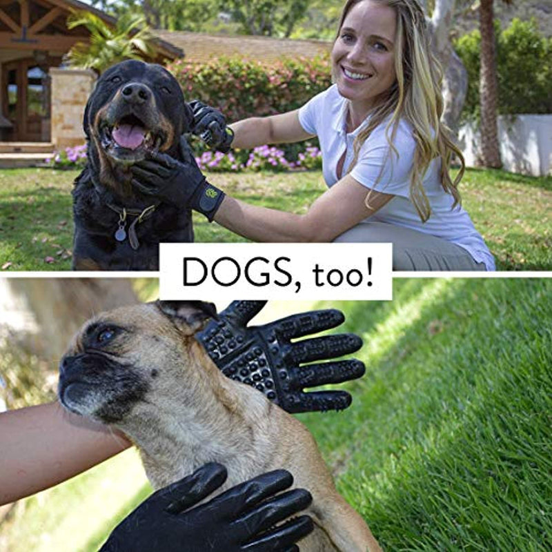 Classier: Buy H HANDSON HandsOn Pet Grooming Gloves - Patented
