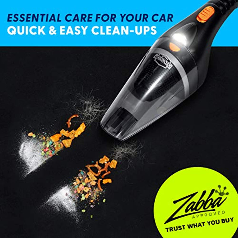 Classier: Buy ThisWorx for Portable Car Vacuum Cleaner: High Power Handheld Vacuum w/LED Light -110W 12v Best Car & Auto Accessories Kit for Detailing and Cleaning Car Interior - 16 Foot Cable