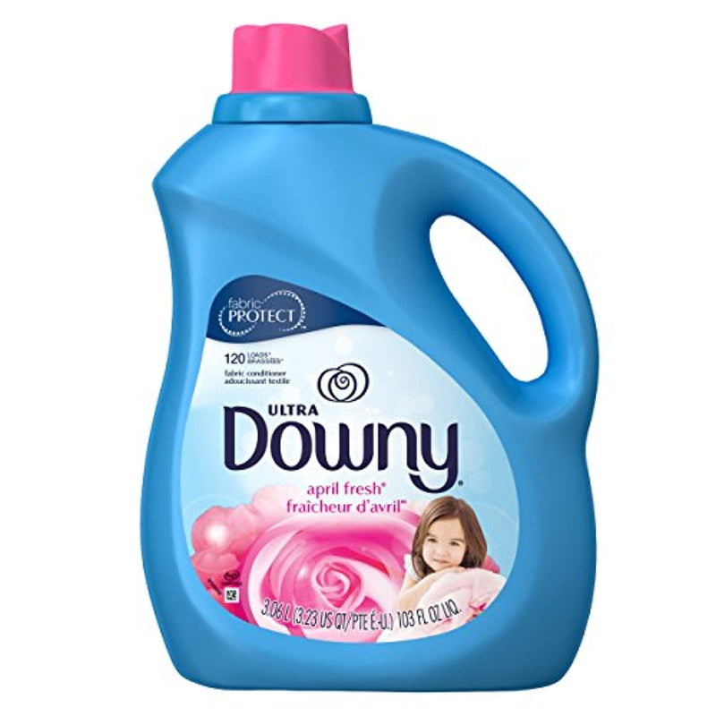 Classier: Buy Downy Downy Ultra Liquid Fabric Conditioner (Fabric Softener), April Fresh, 120 Loads 103 fl oz