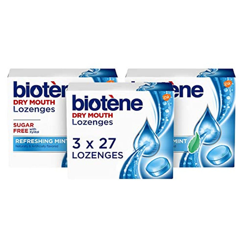 Classier: Buy Biotène Biotene Dry Mouth Lozenges, Refreshing Mint, 81 Count