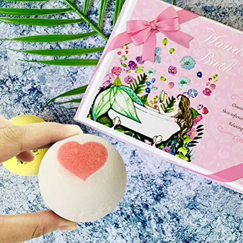 Classier: Buy STNTUS INNOVATIONS STNTUS Bath Bombs, 7 Natural Bath Bomb Gift Set, Handmade Bubble Bathbombs for Women Kids, Shea Butter Moisturize, Gifts for Mom Her Girlfriend, Mothers Day Gifts, for Birthday Valentines Christmas