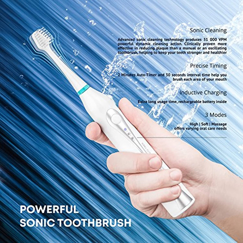 Classier: Buy Aquasonic AquaSonic Home Dental Center Ultra Sonic Rechargeable Electric Toothbrush & Smart Water Flosser