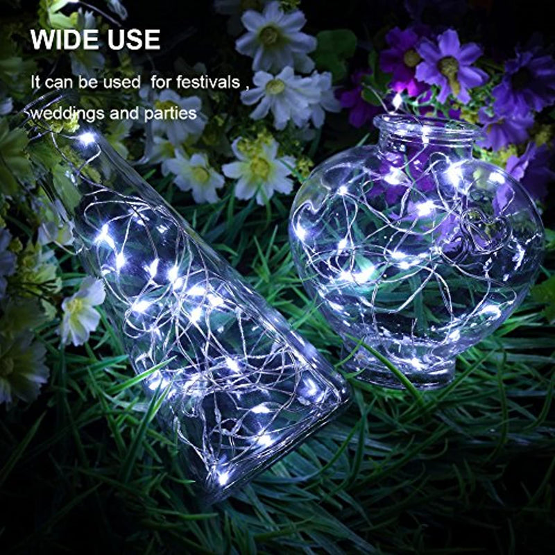 Classier: Buy GDEALER GDEALER 6 Pack Fairy String Lights Christmas Decor 7.2ft 20 Led Starry String Lights Battery Powered Christmas Lights Copper Wire Twinkle Firefly Lights for Party Bedroom Wedding Craft Jar Decorations
