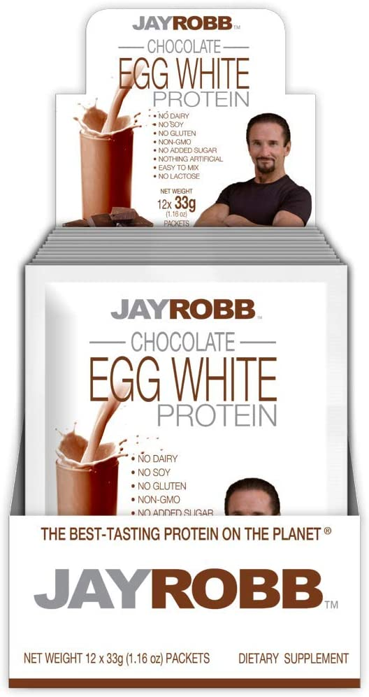 Classier: Buy JAYROBB Jay Robb Egg White Protein Powder, Low Carb, Keto (Convenient Individual Packet, Strawberry)