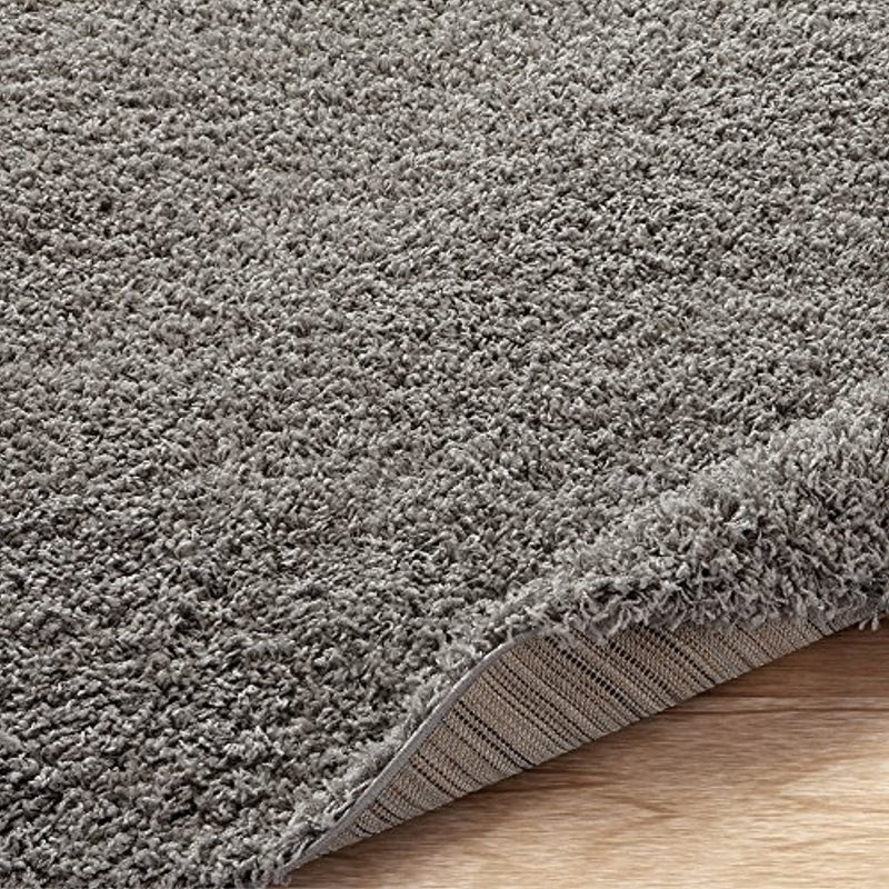 "Classier: Buy Sweet Home Stores Sweet Home Stores Cozy Shag Collection Solid Shag Rug Contemporary Living & Bedroom Soft Shaggy Area Rug, 79"" L x 111"" W, Grey"
