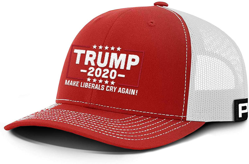 Classier: Buy Donald J. Trump Trump Hat 2020 Make Liberals Cry Again Mesh Back