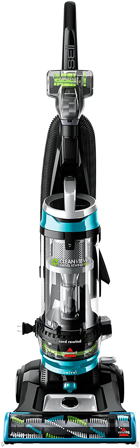 Classier: Buy Bissell BISSELL Cleanview Swivel Rewind Pet Upright Bagless Vacuum Cleaner, Teal