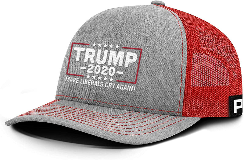 Classier: Buy Donald J. Trump Printed Trump Hat 2020 Make Liberals Cry Again Mesh Back