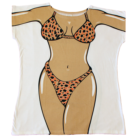 Leopard Skin Women's Cover Up from Body Dreams