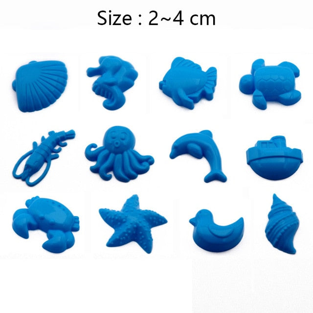 Magic Sand Toy Dynamic Clay Educational Colored Soft Slime Space Sand Supplies Play Sand Antistress Kids Toys for Children