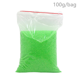 100g Not Wet Magic Sand For Kids Toys Colorful Mars Space Sand Slime Indoor Play Educational Funny Toy For Children Kids Gifts