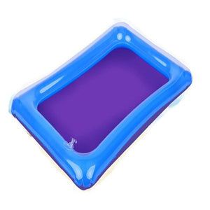 Indoor Multifunction Inflatable Sand Tray Toys for Children Play Sand Modeling Clay Supplies Slime Table Accessories Educational