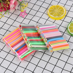 20pcs/Set Fruit Slices For Slime /Nails Beauty Clay Artificial Fruit Slices Bar Sticks Lizun DIY Toy