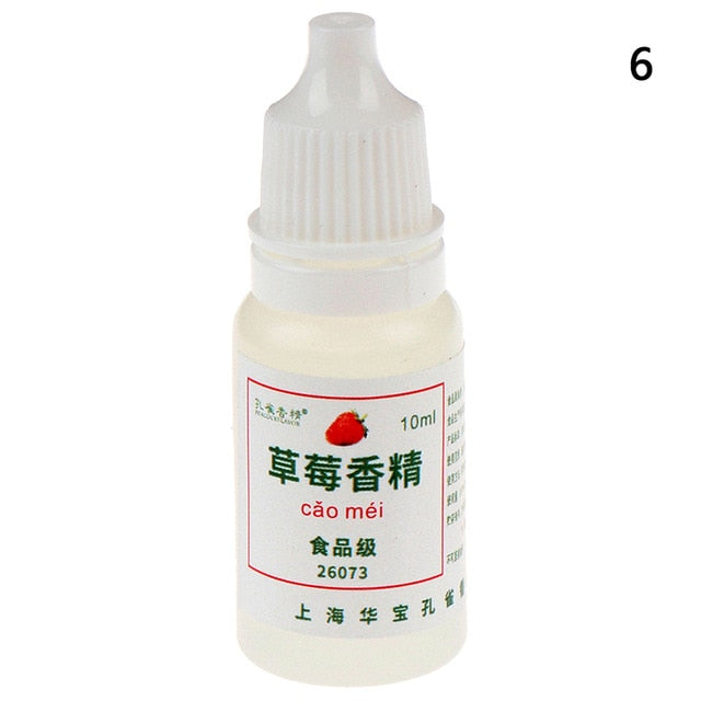 10ML DIY Flavor for Slime Supplies Clay Toys for Children Kids Accessories Decor Make Slime Flavors Charms kits Smell Slices