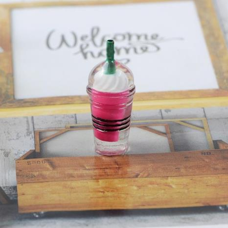 Coffee Straw Cup Charms For Slime Food Ice Cream Clay Filler Resin Slime Accessories Toys Kit For Children Earrings Pendant