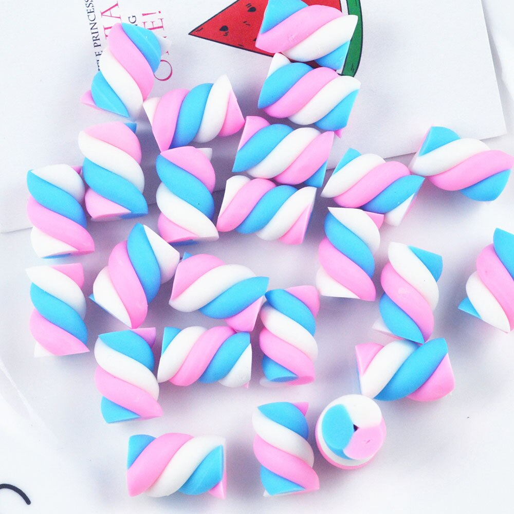 5Pcs Cotton Candy Slime DIY Accessories Toy Slime Supplies Lizun Filler Addition For Clear Fluffy Slime Gift Toy for Children