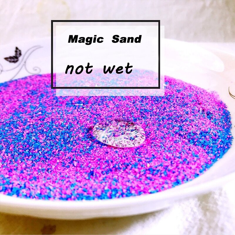 Not Wet Magic Sand For Kids Toys Colorful Space Sand Slime Indoor Play Educational Funny Toy For Children Kids Gifts