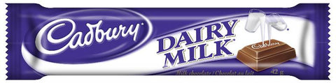 Cadbury Dairy Milk 24x50g ( 102505 ) (508807) (752123)  Top 25 2020
