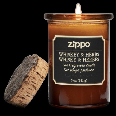 Zippo Candle Whiskey & Herb 5 oz (70010)