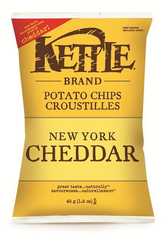 Brand Strategy Kettle Chips New York Cheddar 24x45g (100299)
