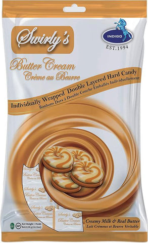 Swirly's Butter Cream Hard 120 g. (119486)