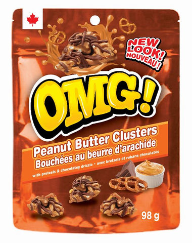OMG Peanut Butter Clusters 12 x98g