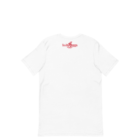 La Arrolladora Heart White Tee