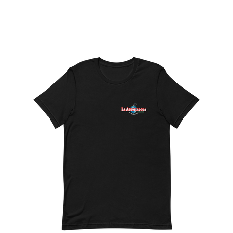 La Arrolladora - Black Small Logo Tee