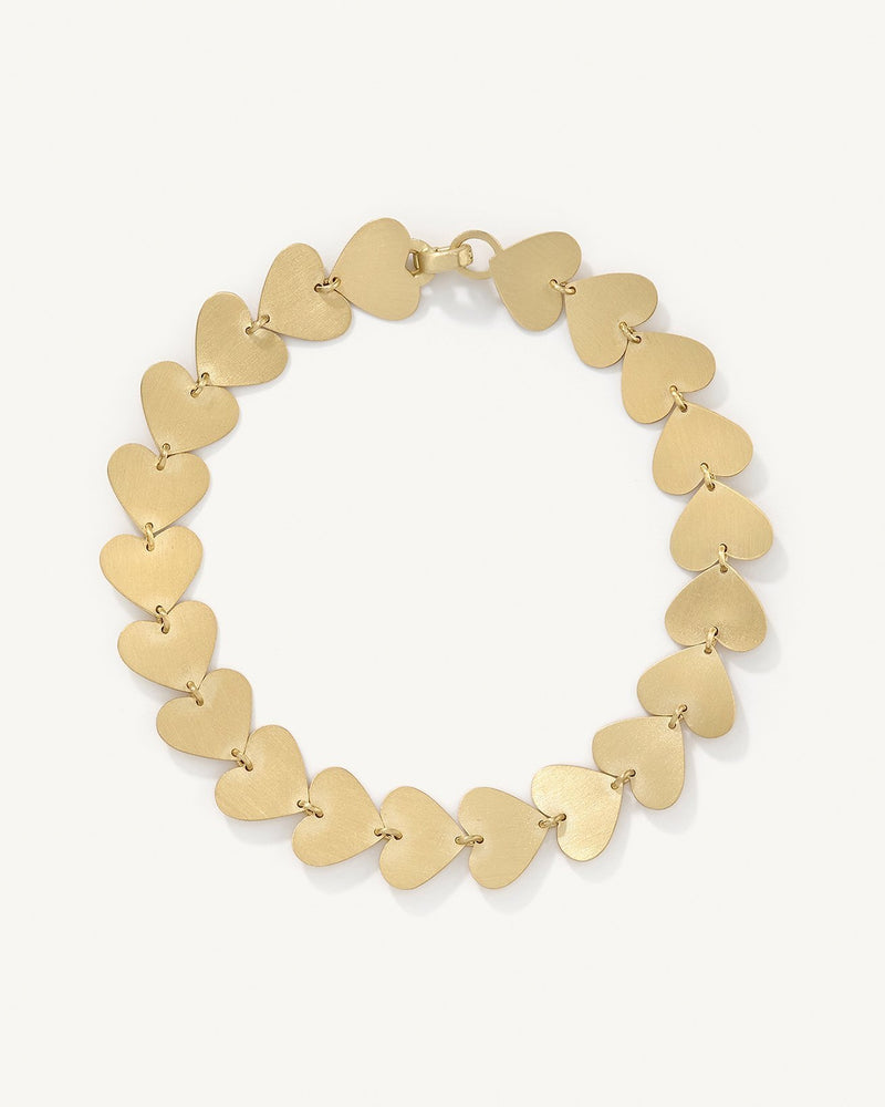 Small Love Link Bracelet, 18K Yellow Gold