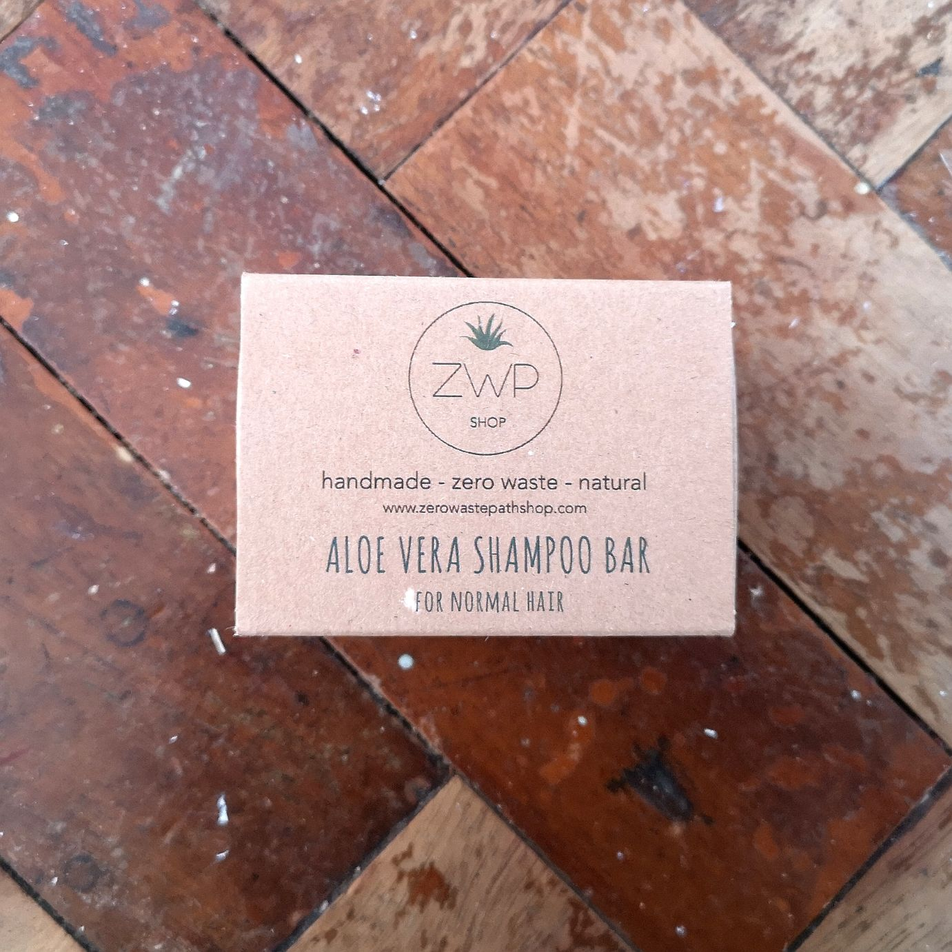 ZWP Aloe Vera Shampoo Bar - for Normal Hair
