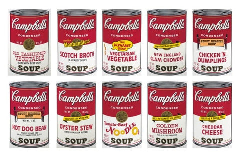 Campbell's Soup Cans andy wharhol