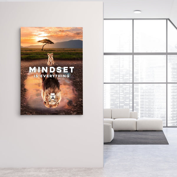 Mindset is everything canvas