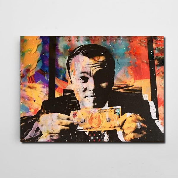 wolf of wall street canvas print