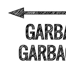 Load image into Gallery viewer, Garbage In, Garbage Out Poster – Printable - Free