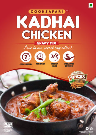 Kadhai Chicken - Gravy Mix