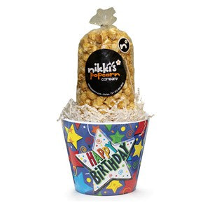 Small Birthday Popcorn Gift Box