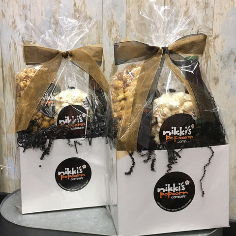 Custom Popcorn Thank You Gift Basket