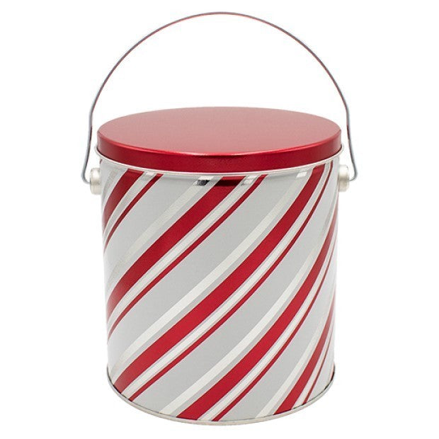 cANDY CANE STRIPE 1 GAL TIN