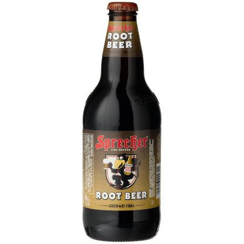 Sprecher Root Beer Glass Bottle