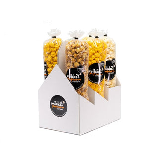 6 Pack Popcorn Sampler Gift Box Dallas