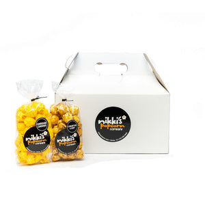 8 Pack Popcorn Sampler Gift Box