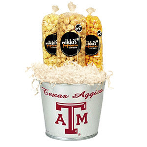 Texas A&M Popcorn Pail
