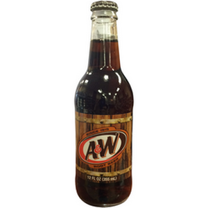 A&W Glass Bottled Root Beer - Nikki's Popcorn Company Dallas, TX