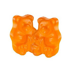 Gummi Bears Orange Bulk 1/2 lb - Nikki's Popcorn Company Dallas, TX