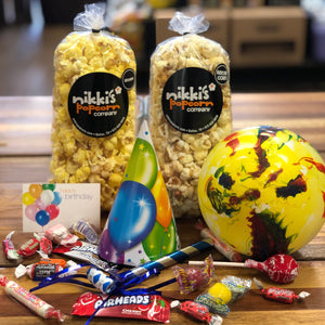 Birthday Popcorn Gift Box