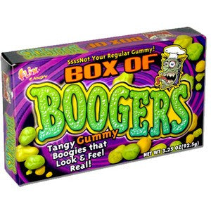 Box of Boogers - Nikki's Popcorn Company Dallas, TX